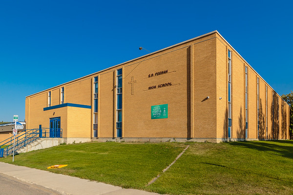 E.D. Feehan High School is located in the Westmount neighbourhood of Saskatoon.